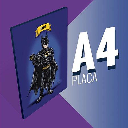 Placa A4 - Batman Michael Keaton