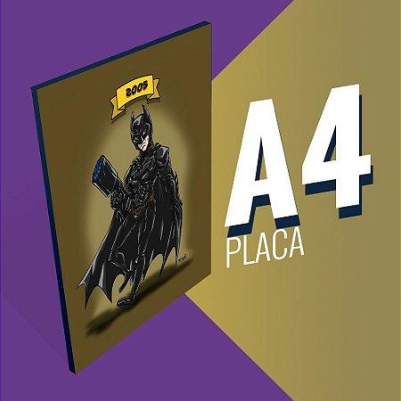 Placa A4 - Batman Christian Bale