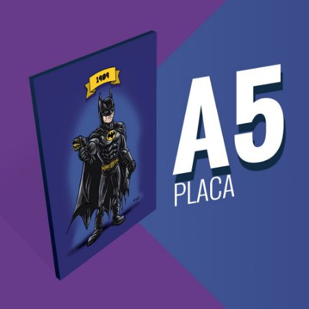 Placa A5 - Batman Michael Keaton