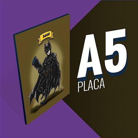 Placa A5 - Batman Christian Bale