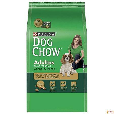 DOG CHOW Adultos Raça Pequenas Carne e Arroz 15KG