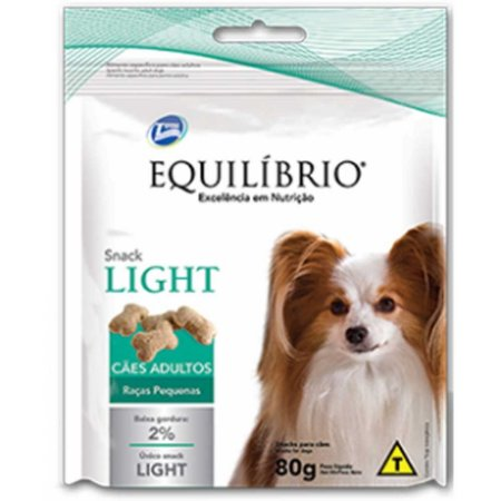EQUILIBRIO SNACK LIGHT DOG RP 80GR