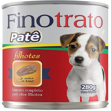 FINOTRATO PATE CAES FILHOTES SABOR CARNE 280GR