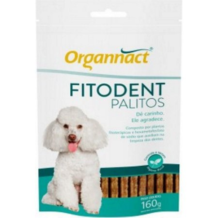 FITODENT PALITOS SACHE 160 GRS
