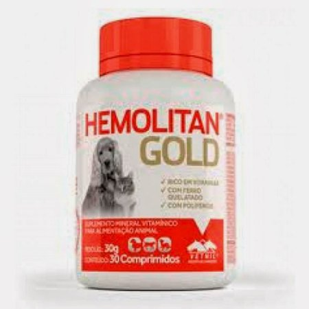 HEMOLITAN GOLD 30 COMP