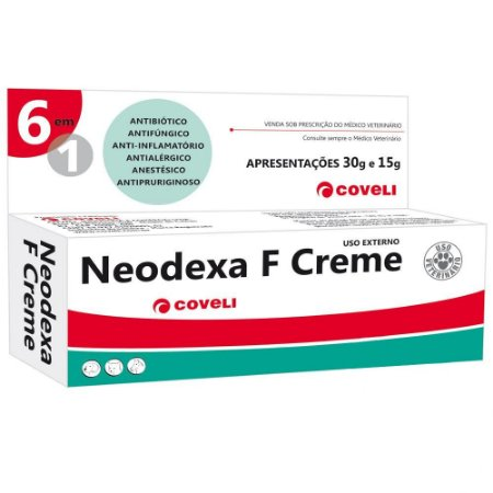 NEODEXA F CREME 6 EM 1 15GR