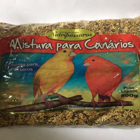 NUTRIPASSAROS CANÁRIO 500G
