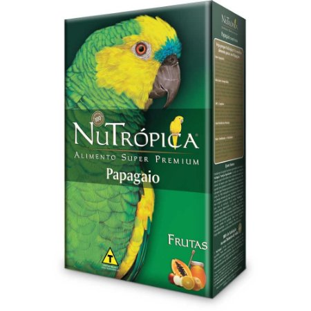 NUTROPICA PAPAGAIO C/ FRUTAS 300 GR