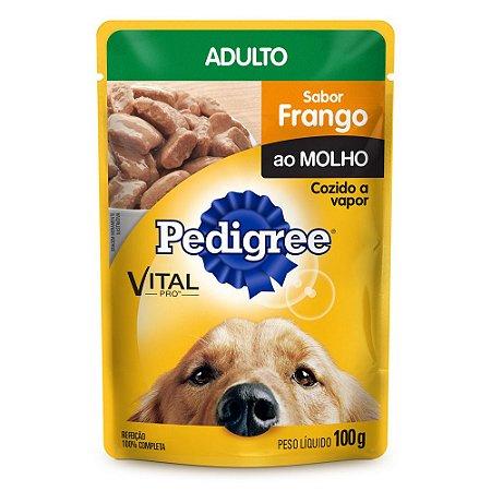 PEDIGREE SACHE ADULTO FRANGO MED E GRA 100G