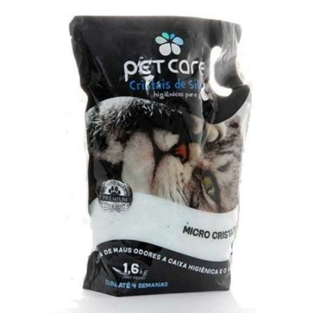 PET CARE CRISTAIS SILICA 1,6 KG