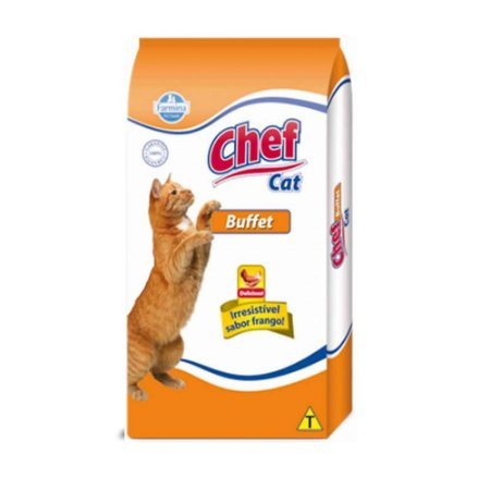 RACAO CHEF CAT 1KG