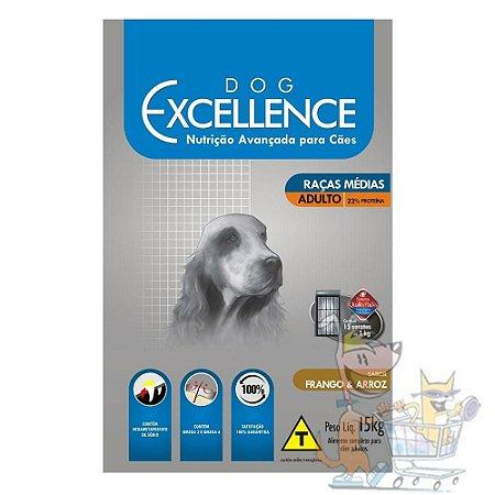 RAÇÃO DOG EXCELLENCE AD. RM FRANGO 15 Kg