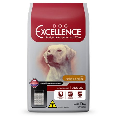 DOG EXCELLENCE ADULTO RG FRANGO 15KG