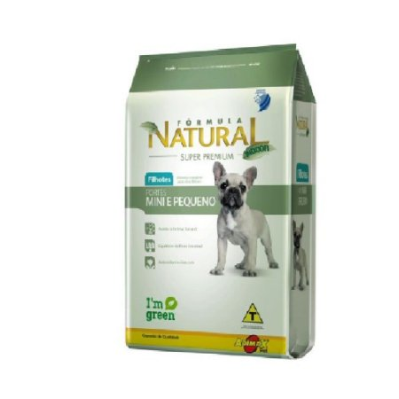 FORMULA NATURAL FILHOTE PORT MINI/PEQ 1KG