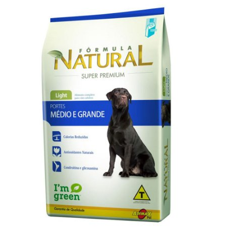 FORMULA NATURAL LIGHT PORT MED/GR 14KG