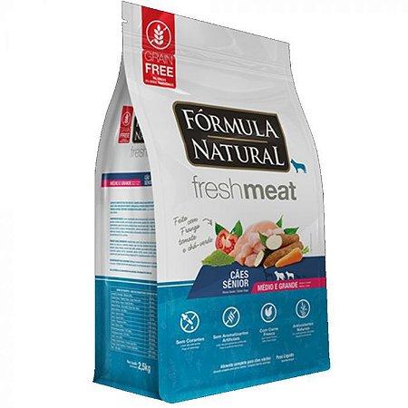FORMULA NATURAL FRESH MEAT SENIOR MED/GR 12KG