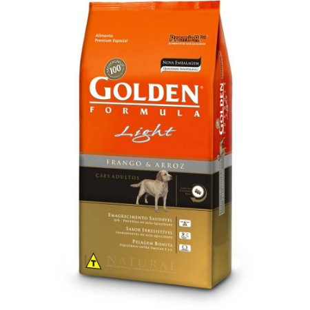 GOLDEN CÃO LIGHT ADULTO 15Kg