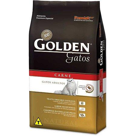 GOLDEN GATOS CARNE  ADULTO 1KG
