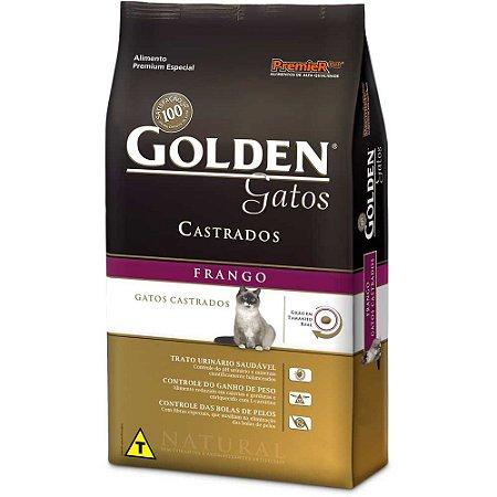 GOLDEN GATO CASTRADO FRANGO 1KG