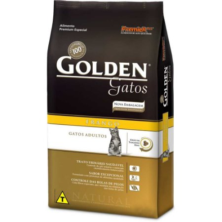 GOLDEN FRANGO  GATOS ADULTO 3KG