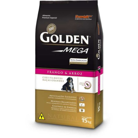GOLDEN MEGA FILHOTES 15 KG