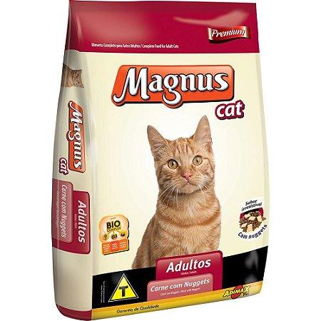 RAÇÃO MAGNUS CAT MIX C/NUG 1KG