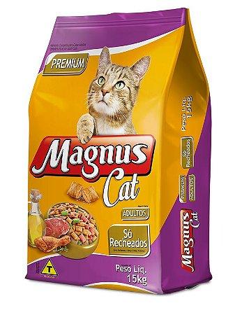 MAGNUS CAT SO RECHEADOS 15KG