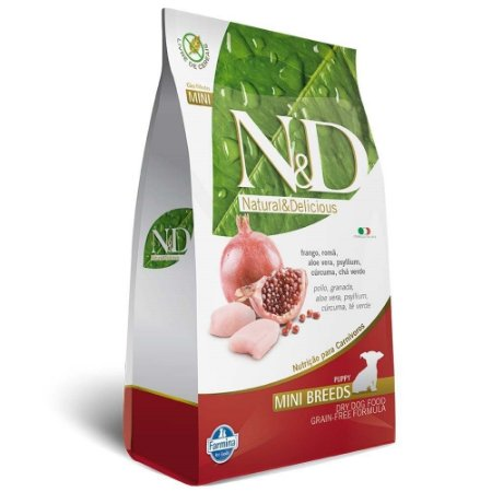 ND PRIME CANINE FRANGO MINI 2,5KG