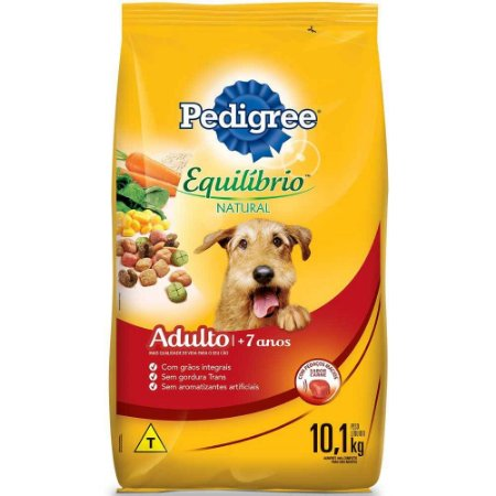 PEDIGREE EQUILIBRIO NATURAL SENIOR 3KG