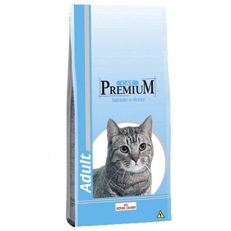 RAÇÃO ROYAL CAT PREMIUM SALMAO 1KG