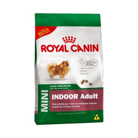RAÇAO ROYAL MINI INDOOR AD 3KG