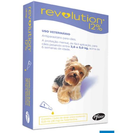 REVOLUTION ROXO CAIXA 3 - 12% 0,25ML