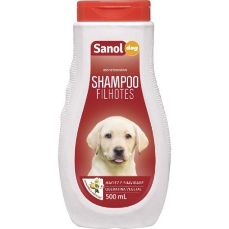SANOL Shampoo Filhotes 500ML