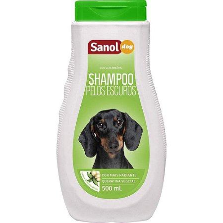SANOL Shampoo Pelos Escuros 500ML