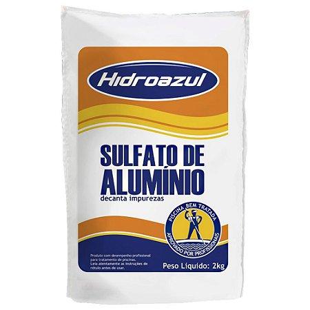 SULFATO DE ALUMINIO HIDROAZUL 2kg
