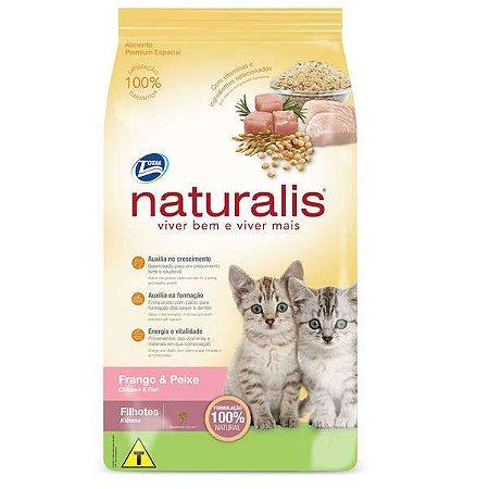 Naturalis Frango e Peixe Gatos Filhote 1kg