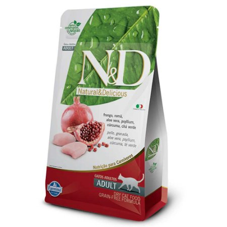 ND GFREE FELINE ADULTO FRANGO 10,1KG