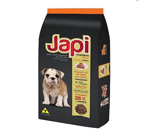 JAPI PREMIUM FILHOTES + CALCIO 10,1 KG