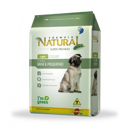 FORMULA NATURAL LIGHT PORT MINI/PEQ 7KG