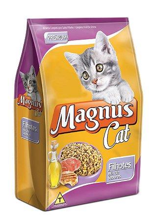 Magnus Cat Premium Filhotes Mix de Sabores 15KG