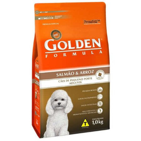 GOLDEN SALMAO MINIBITS ADULTO  1 KG