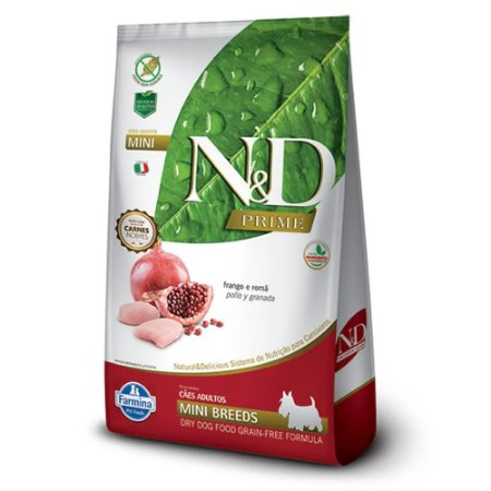 ND GFREE CANINE ADULTO FRANGO MINI 10,1KG