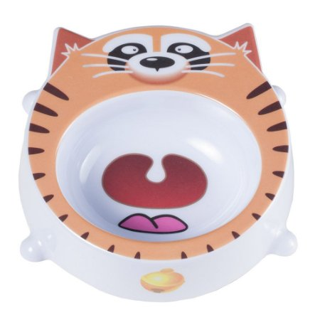 Comedouro de Melamina Gatos Cat Face