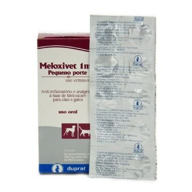 MELOXIVET 6MG CARTELA