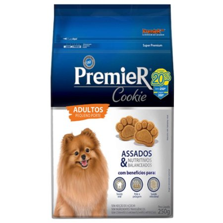 COOKIE PREMIER ADULTO PEQUENO PORTE  250G