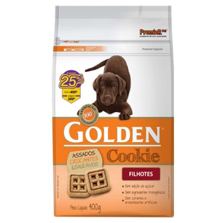 COOKIE GOLDEN FILHOTES 400G