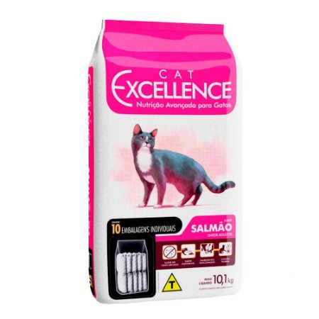 Cat Excellence Ad. Salmao 10,1 Kg