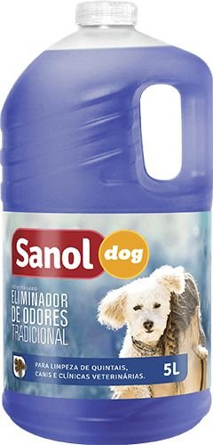 SANOL ELIMINADOS DE ODORES TRADICIONAL 5 LT