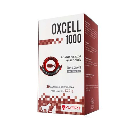OXCELL 1000MG CAP 30 UNIDADES
