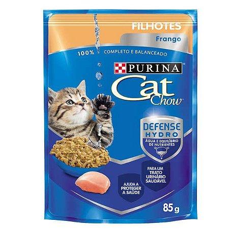 CAT CHOW sache Filhotes Frango ao molho 85g